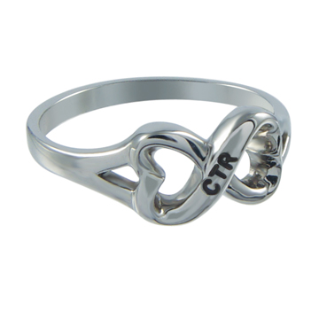 Heart to Heart CTR Ring - Stainless Steel