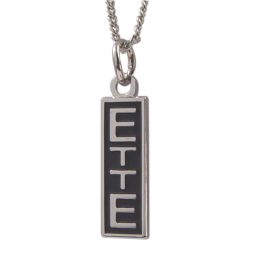 ETTE Charm Necklace 18in