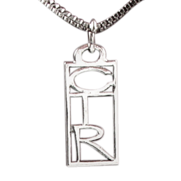 CTR Square Necklace