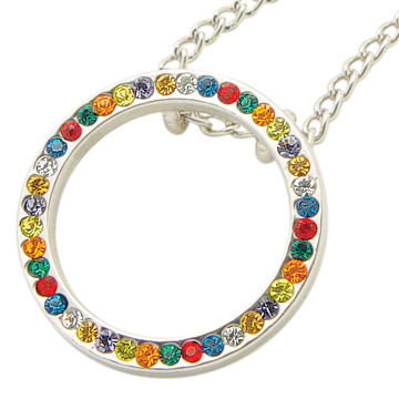 Young Women Values Circle Necklace