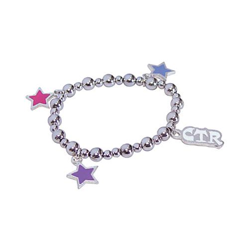 CTR Star Stretch Bead Bracelet