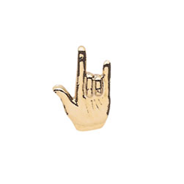 I Love You Sign Language Pin