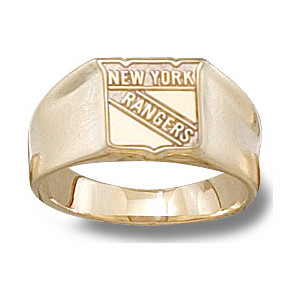 New York Rangers Ladies' Ring - 14k