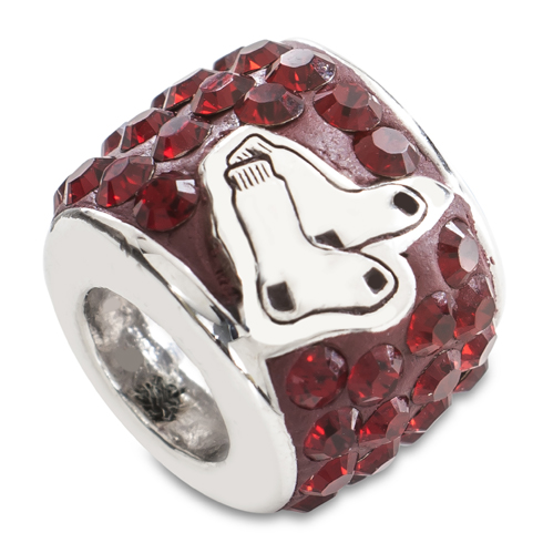 Sterling Silver Boston Red Sox Premier Bead Charm