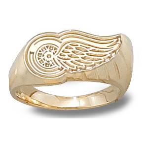 10kt Gold Detroit Red Wings Ladies' Ring