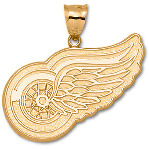 Detroit Red Wings Giant Pendant - 10k Gold