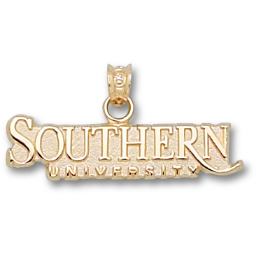 Southern U 3/8in Pendant 10kt Yellow Gold