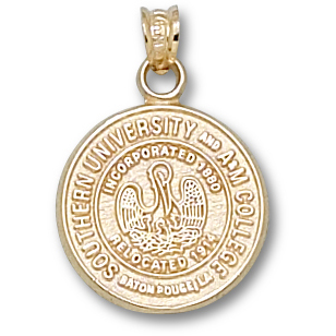 Southern U 5/8in Pendant 14kt Yellow Gold