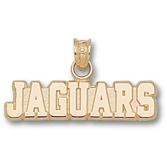 Southern U Jaguars 1/4in Pendant 14kt Yellow Gold