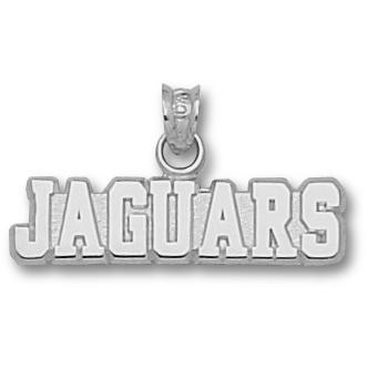 Southern U Jaguars 1/4in Pendant Sterling Silver