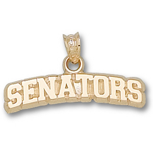 Ottawa Senators 1/4in 10k Pendant