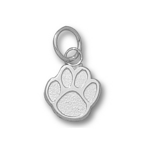 Sterling Silver 3/8in Sam Houston State University Paw Charm
