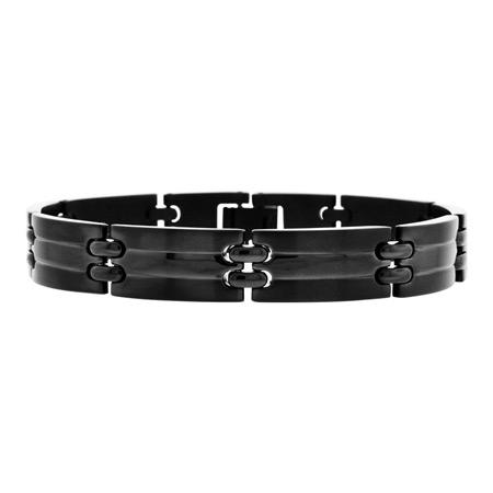 IP Black Stainless Steel Bracelet