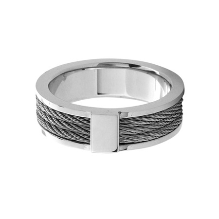 3 Cable Ring - Stainless Steel