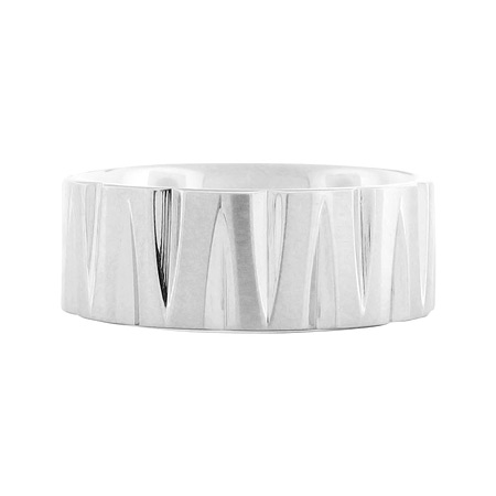 Edge Stainless Steel Ring