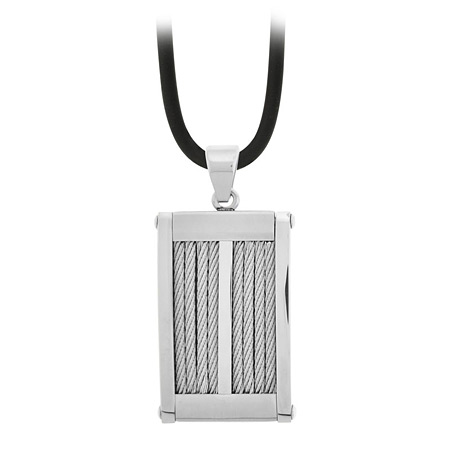 Cable Pendant - Stainless Steel