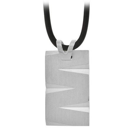 Edge Pendant - Stainless Steel