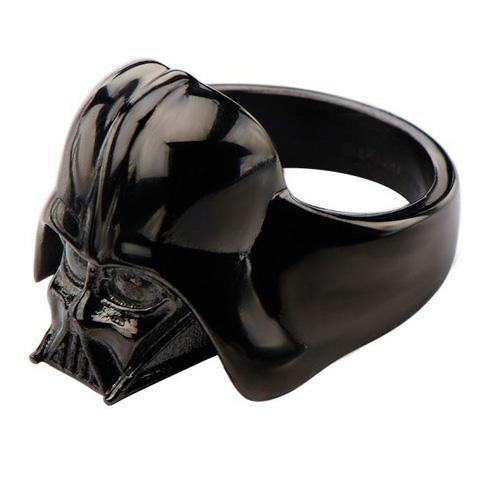 Stainless Steel Star Wars Darth Vader Ring