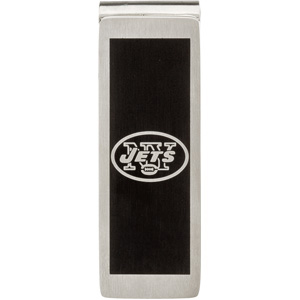 Stainless Steel New York Jets Money Clip