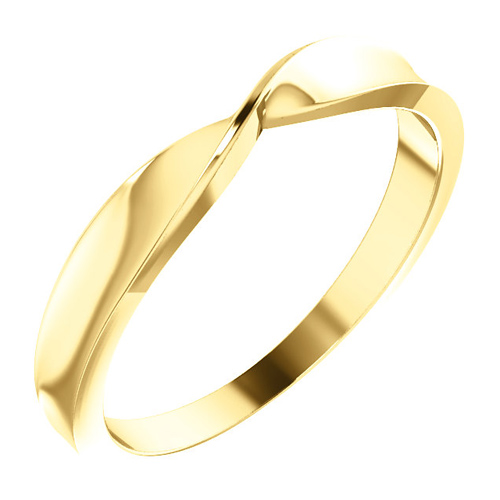 14kt Yellow Gold Twisted Stackable Ring