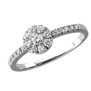 14kt White Gold 1/3 ct tw Diamond Promise Ring