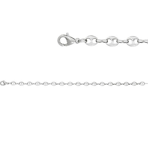 Stainless Steel 20in Marina Link Chain
