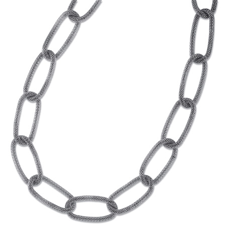 36in Stainless Steel Mesh Necklace