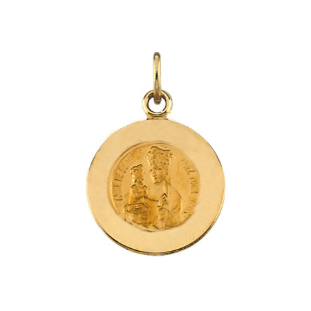 St. Anne Medal 12mm - 14k Gold