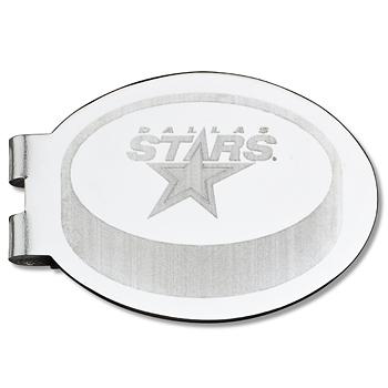 Dallas Stars Laser Engraved Money Clip