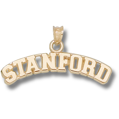 14kt Yellow Gold Stanford University Arch Pendant