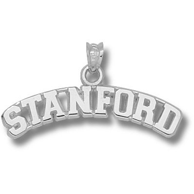 Sterling Silver Stanford University Arch Pendant