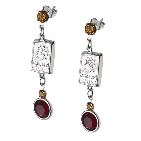 Phoenix Suns Crystal Logo Earrings
