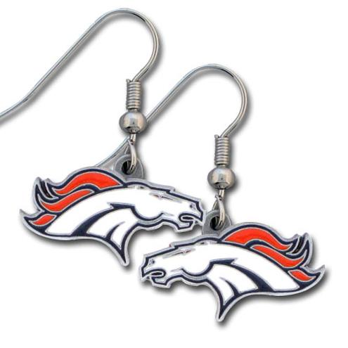 Denver Broncos NFL Dangling Earrings
