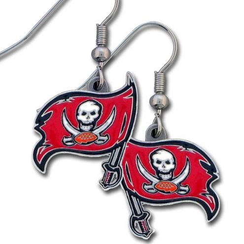 Tampa Bay Buccaneers NFL Dangling Earrings