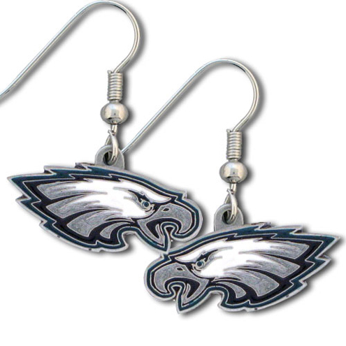 Philadelphia Eagles NFL Dangling Earrings
