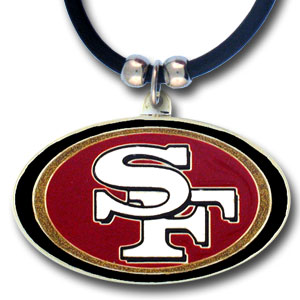 San Francisco 49ers NFL Logo Pendant