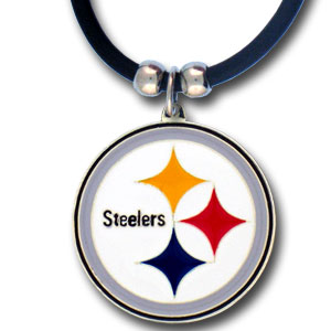 22in Pittsburgh Steelers Logo Zinc Necklace