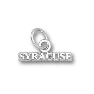 Syracuse Orangemen 1/16in Sterling Silver Charm