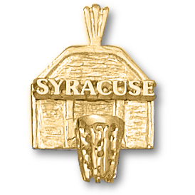 Syracuse Orangemen 5/8in 14k Backboard Pendant