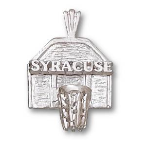 Sterling Silver 5/8in Syracuse Backboard Pendant