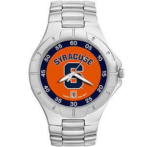 Syracuse Orangemen Mens Stainless Pro II Watch