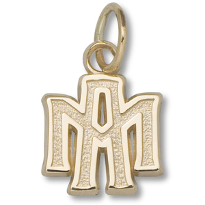 10kt Yellow Gold 1/4in Texas A&M University Charm