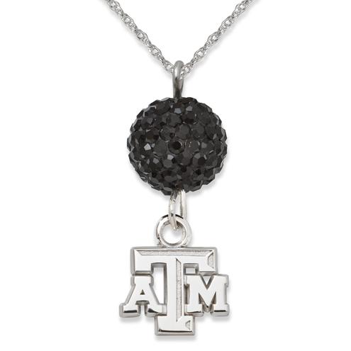 Texas A&M University Crystal Ovation Necklace