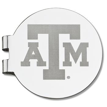 Texas A&M University Laser Engraved Money Clip