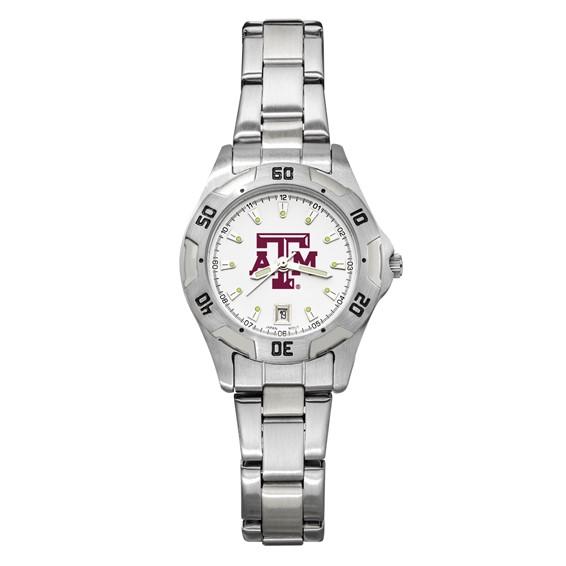 Texas A&M University Women's All-Pro Chrome Watch