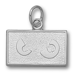 Temple 3/8in Pendant Sterling Silver
