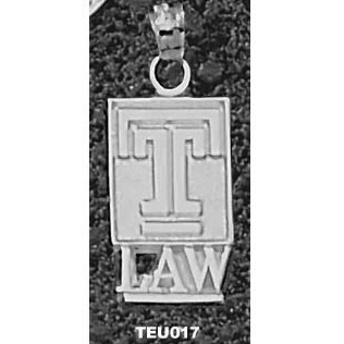 Temple Law 5/8in Pendant Sterling Silver