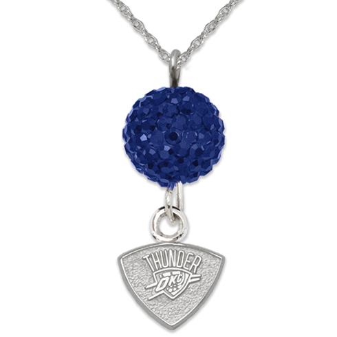 Sterling Silver Oklahoma City Thunder Ovation Necklace