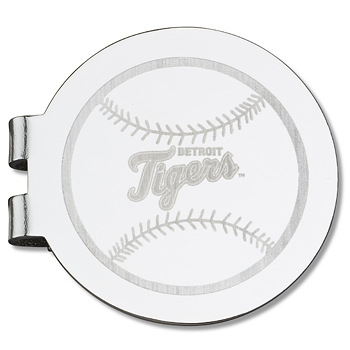 Detroit Tigers Laser Engraved Money Clip