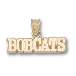 Texas State Bobcats 3/16in 14k Pendant